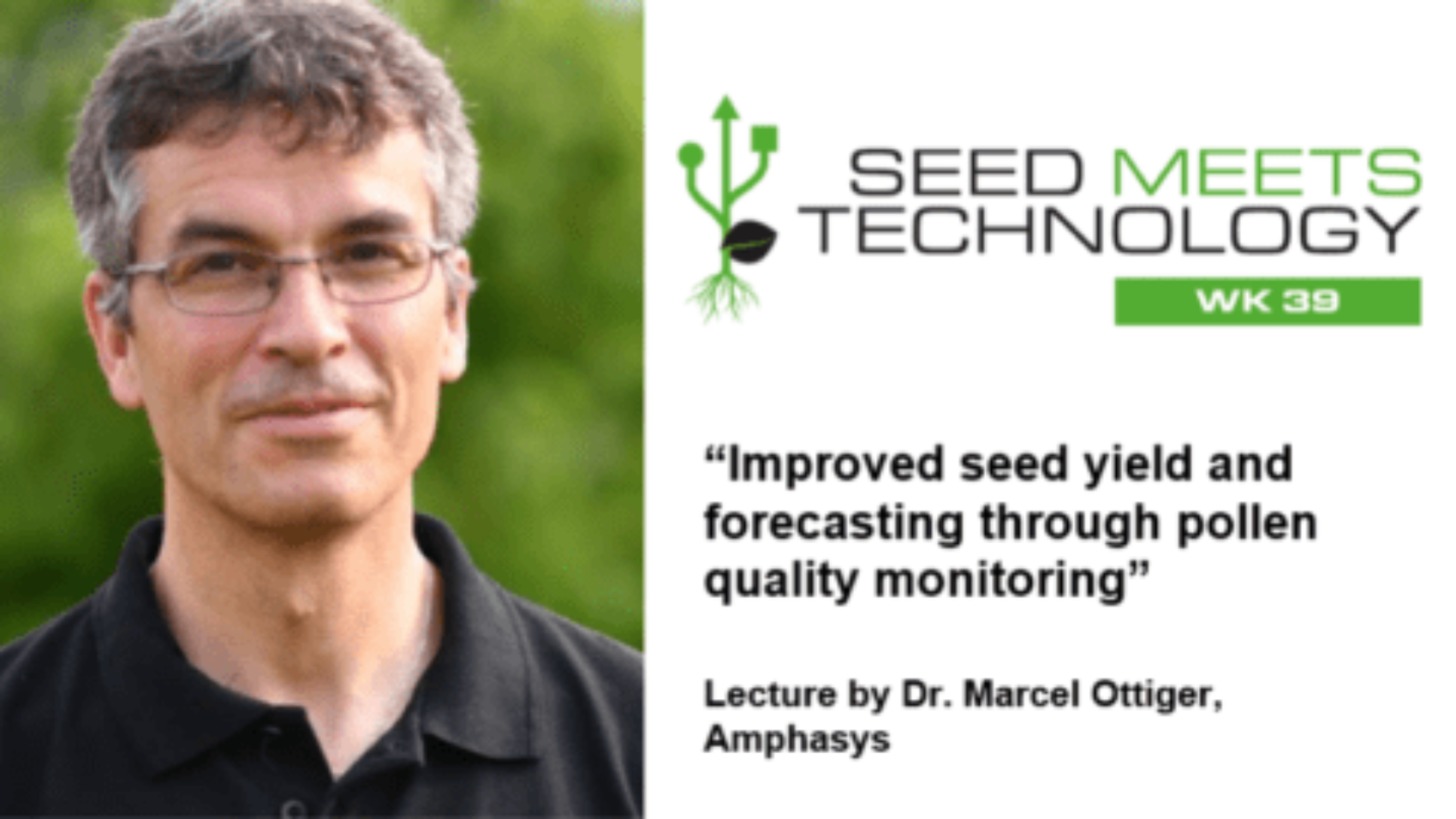 Amphasys SMT Lecture on Pollen Quality Monitoring
