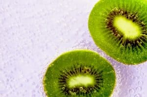 Supplemental pollination with highly viable pollen provides larger kiwi and strawberry fruit.