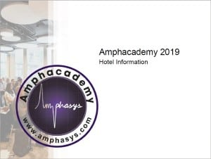 Amphacademy 2019 Hotel Information